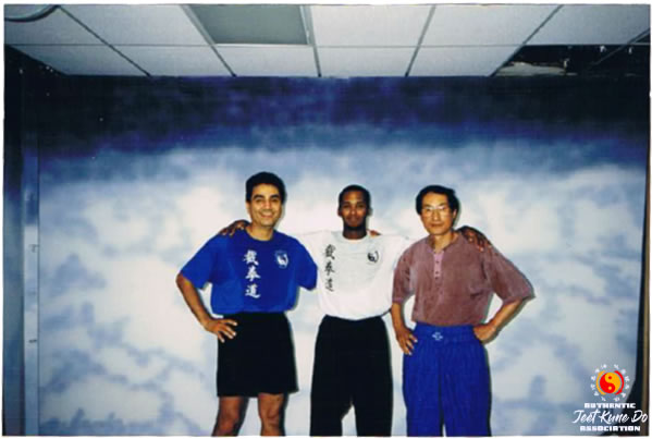 Sifu Gonzales with Instructor Kenneth Prejean and Sifu Wong