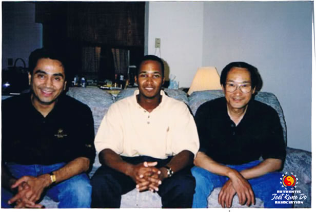 Sifu Gonzales with Instructor Kenneth Prejean and Sifu Gonzales.